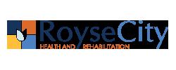 www.roysecityhealthandrehab.com Logo