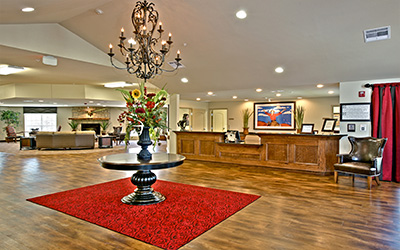 Broadmoor Medical Lodge location lobby