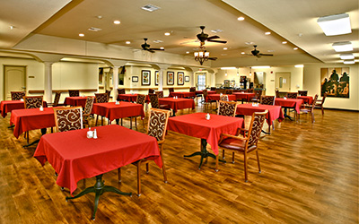 Broadmoor Medical Lodge location dining hall