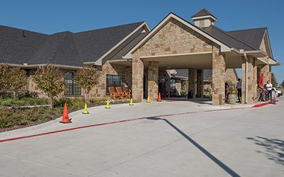 Lexington Medical Lodge location exterior