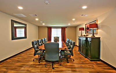 Broadmoor Medical Lodge location conference room