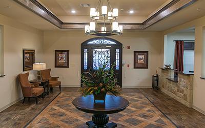 Hillside lobby