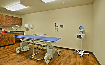 Broadmoor Medical Lodge location treatment room