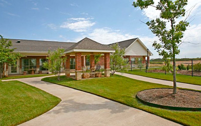 Senior Care Wichita Falls location exterior